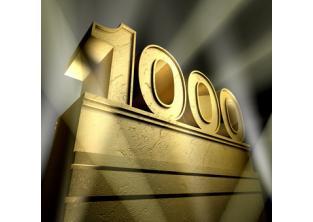 1000 machines