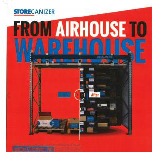 FROM AIRHOUSE TO WAREHOUSE