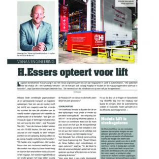 H.ESSERS OPTEERT VOOR LIFT