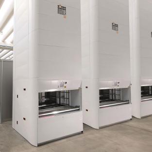 Modula Slim: een compact verticaal magazijn