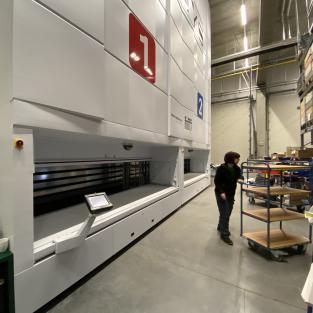 Ontdek op Supply Chain Innovations hoe Denys zijn technisch afhaalmagazijn transformeerde naar een logistieke omgeving