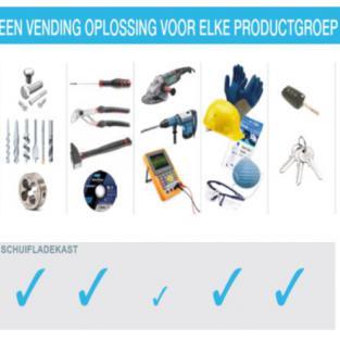De ECTC:    nieuwe ontwikkeling in Verdeelautomaten